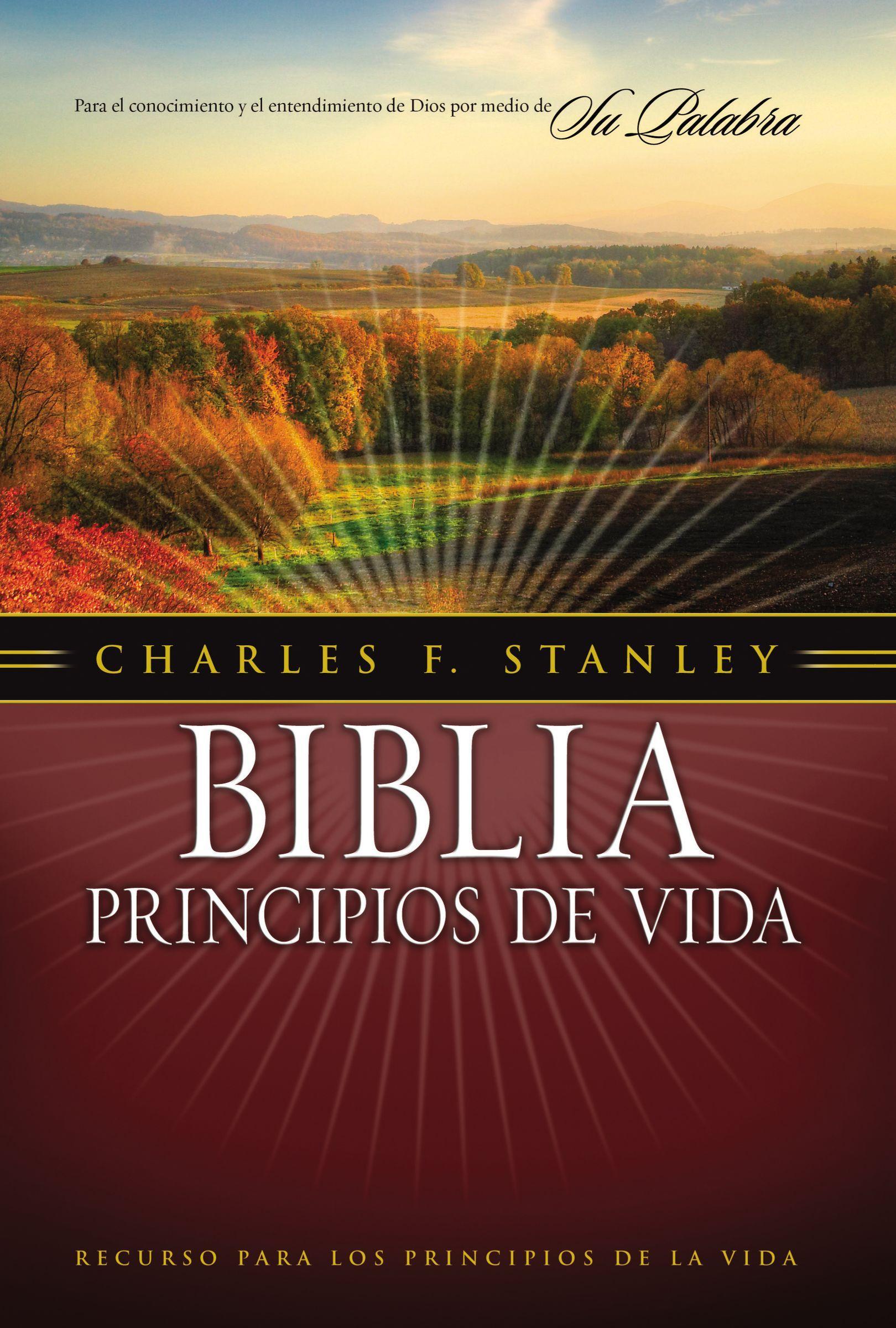 Matrimonio Biblia Paralela : Biblia principios de vida del dr. charles f. stanley 9781602550940