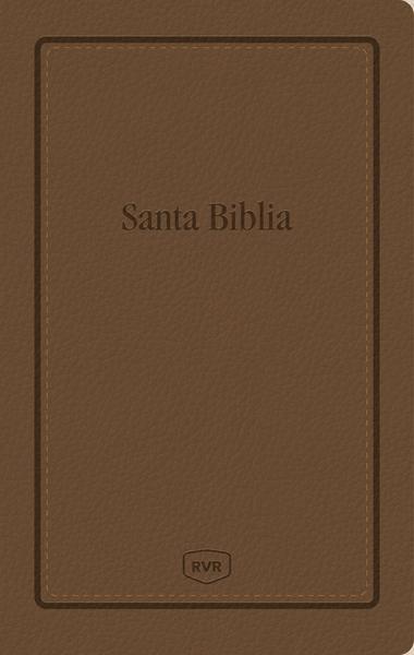 Santa Biblia Reina Valera Revisada RVR, Letra Extra Grande, Tamaño Manual, Letra Roja, Leathersoft - 9781400210558 - Revisada, Reina Valera