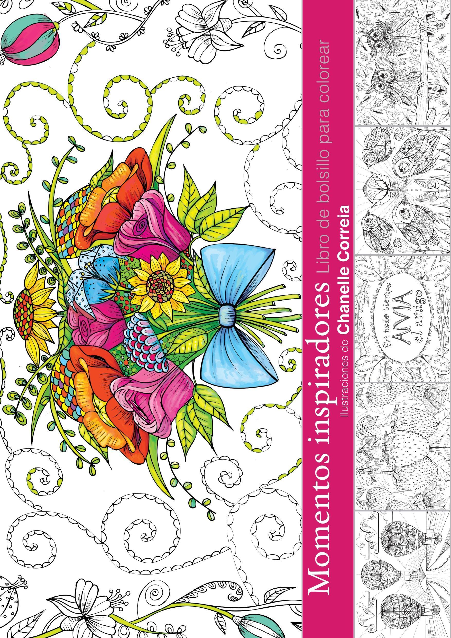 Momentos inspiradores - Libro de bolsillo de colorear ...