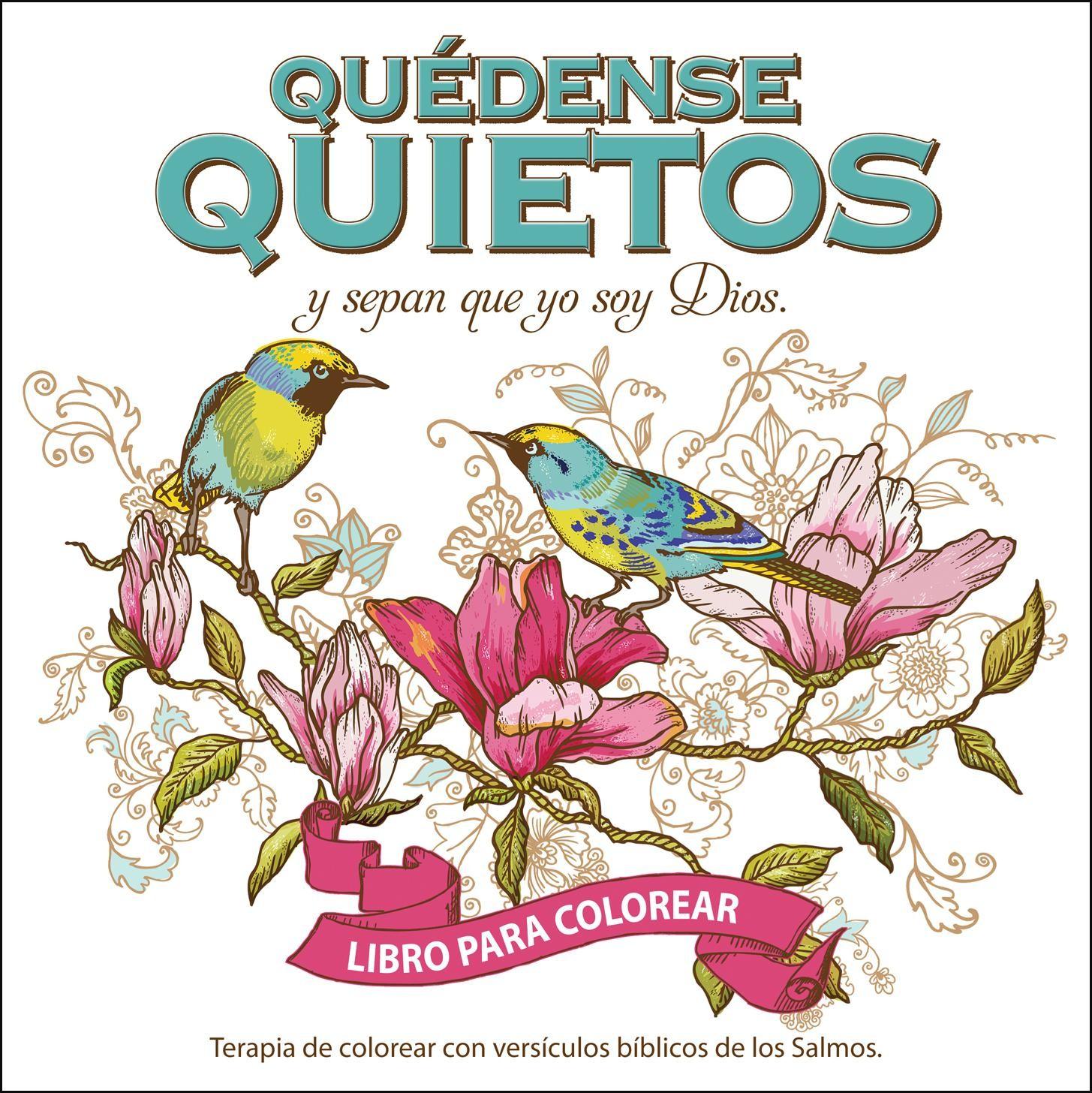 quietos y sepan que yo soy Dios -libro para colorear - 9780789923783 ...
