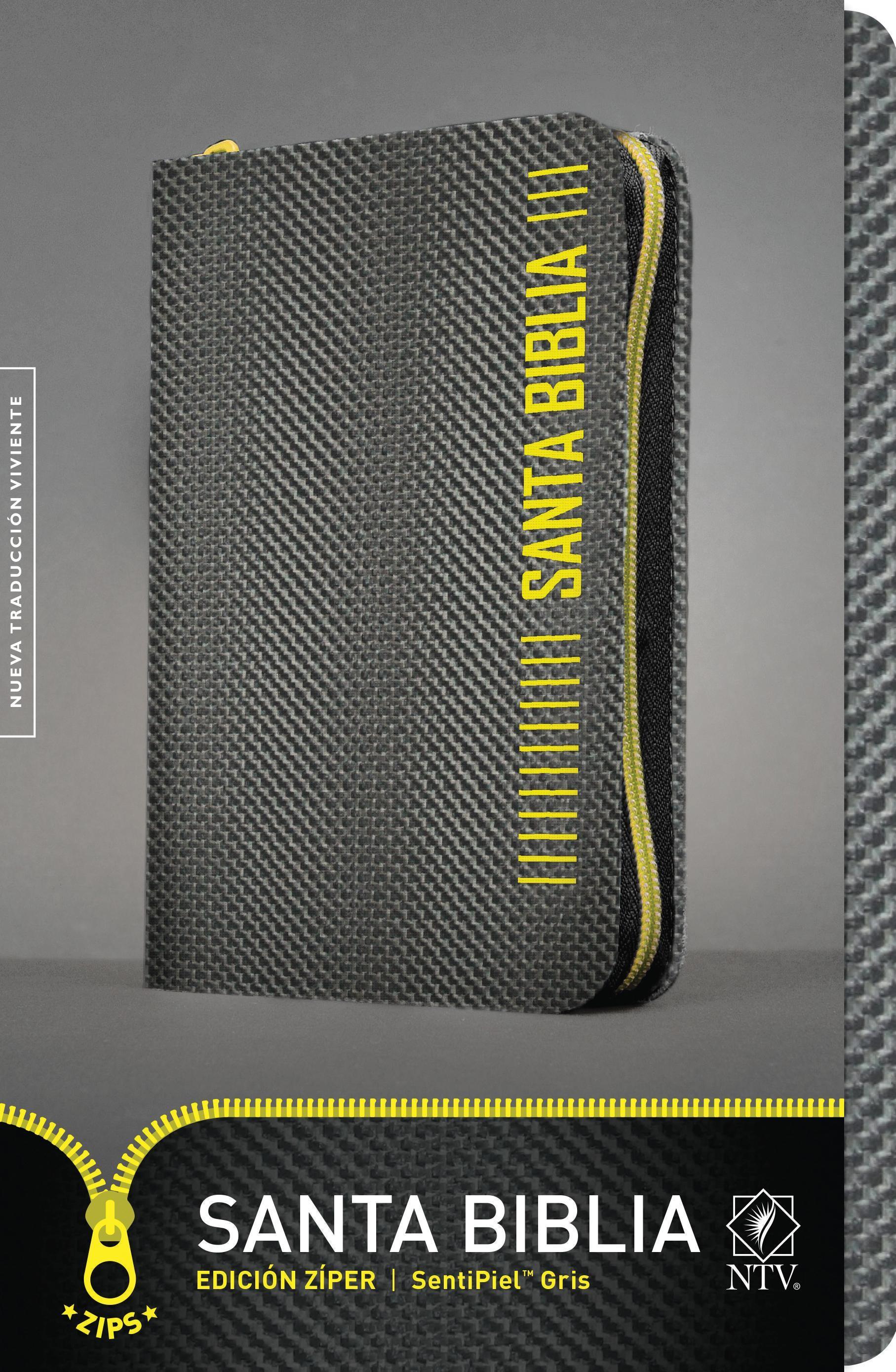 Santa Biblia NTV, Edición zíper: Holy Bible NTV, Zipper Edition - 9781496414946 - Tyndale
