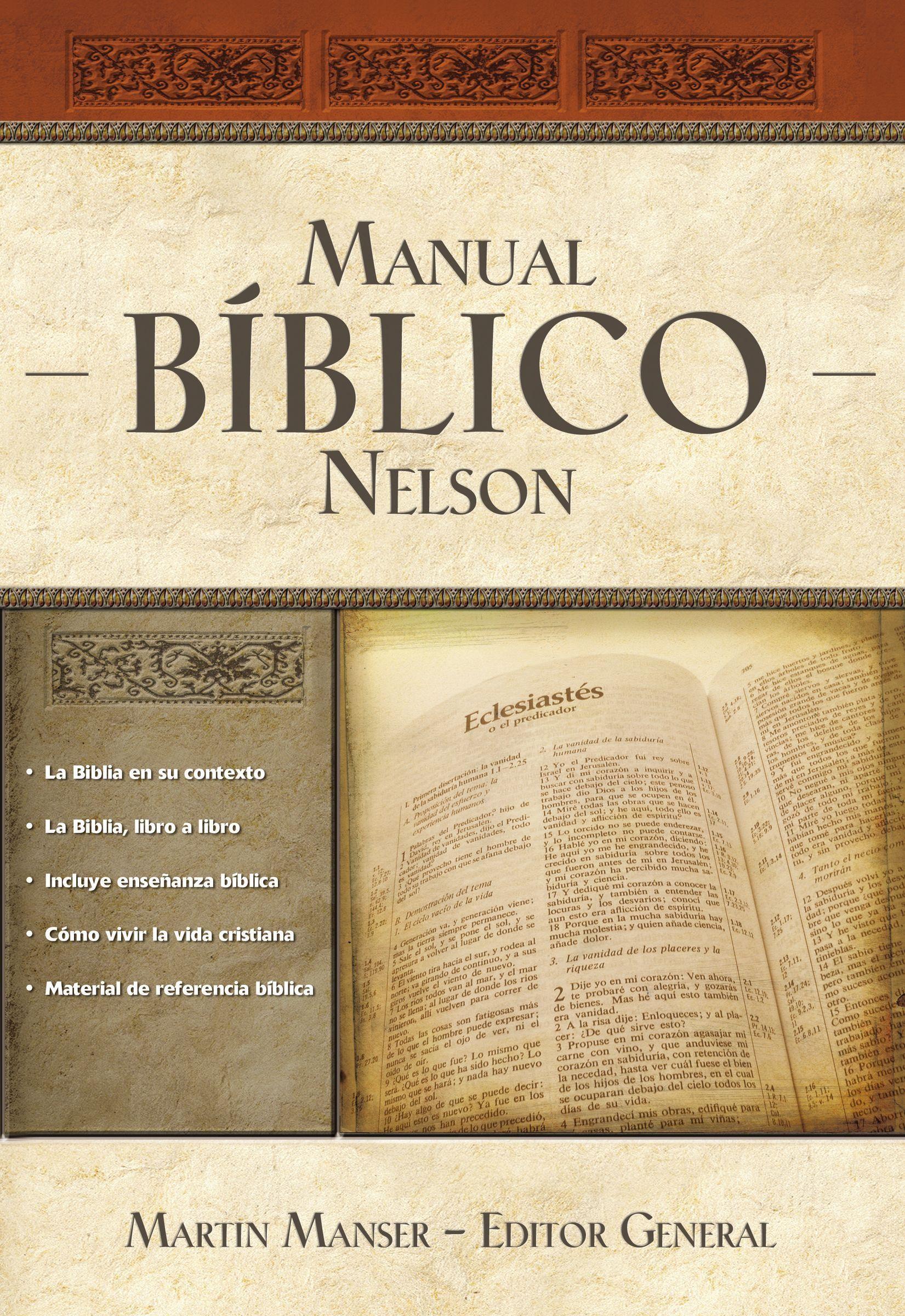 Manual Bíblico Nelson - 9781602555136 - Manser, Martin H.