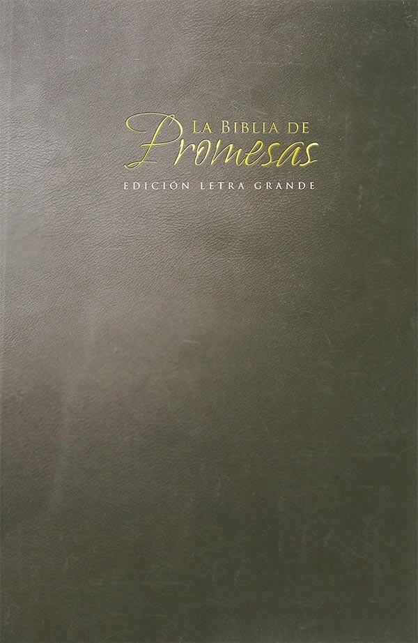 Matrimonio Biblia Paralela : La biblia de promesas rvr 1960 letra grande 9780789921222
