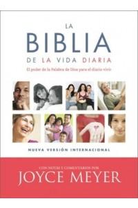 Biblia de la vida diaria, NVI Simil piel -