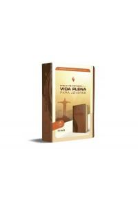 Biblia vida plena jovenes marron RVR1960 -