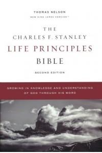 Charles F. Stanley Life Principles Bible NKJV, Comfort Print, hardcover -