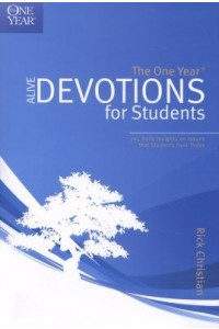 OneYear Alive Devotions for Students -