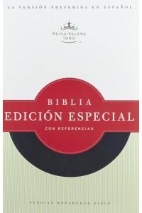 Biblia Edición Especial con Referencias RVR 1960 Negra, piel fabricada -