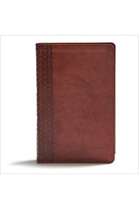 Everyday Study Bible, CSB British Tan LeatherTouchBritish Tan LeatherTouch -