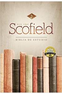 Biblia de Estudio Scofield RVR 1960  tapa dura con índice -