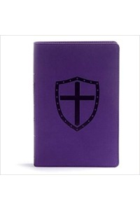 Defend Your Faith Bible CSB Plum LeatherTouch: The Apologetics Bible for Kids  -