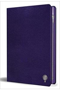 Biblia Imagenes Tierra Santa letra grnade, cierre, RVR 1960 Púrpura -