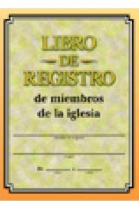 Libro de Registro de Miembros -