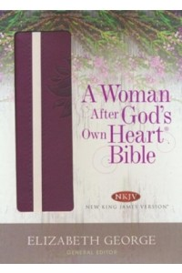 Woman After God's Own Heart Bible NKJV Berry Imitation Leather -  - George, Elizabeth
