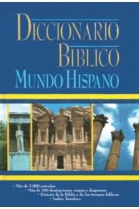 Diccionario Bíblico Mundo Hispano -  - J. D. Douglas y Merril C. Tenney