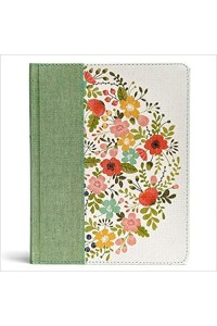 CSB Notetaking Bible Sage Cloth Over Board -