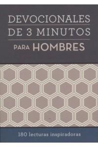 Devocionales de 3 minutos para hombres -