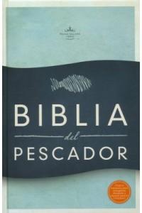 RVR 1960 Biblia del Pescador letra grande, azul símil piel -  - Díaz-Pabón, Luis Ángel