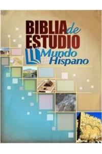 Biblia de Estudio Mundo Hispano (Tapa Dura) -  - Editorial Mundo Hispano