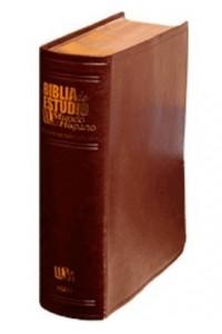 Biblia de Estudio Mundo Hispano (Piel Europea) -  - Editorial Mundo Hispano
