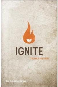 NKJV Ignite Bible for teens paperback -