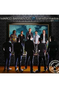 CD/DVD Transformados en Vivo, Marco Barrientos -  - Barrientos, Marco