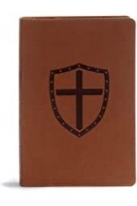 Defend Your Faith Bible, CSB Walnut LeatherTouch -