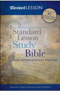 NIV Standard Lesson Study Bible, DuoTone -
