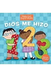 Dios me hizo 1, 2, 3 (Edición bilingüe) -