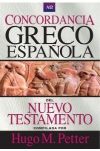 Concordancia Greco-Española del Nuevo Testamento -  - Petter, Hugo M.