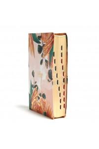 Biblia devocional para mujeres, Centrada en Cristo, floral símil piel con índice RVR 1960 -
