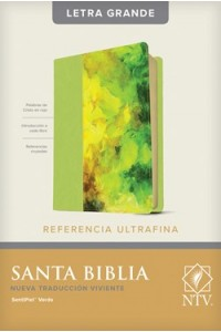 Biblia NTV, Edición de referencia ultrafina, letra grande -