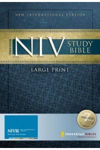 NIV Study Bible, Large Print Hardcover – Large Print -