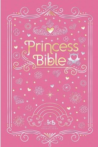 ICB Princess Bible with Coloring Sticker Book -