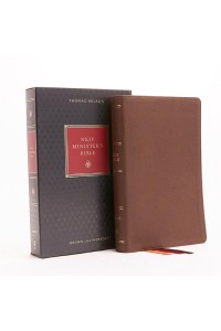 NKJV, Minister's Bible, Imitation Leather, Brown, Red Letter Edition -