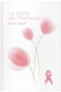 Biblia de promesas RV1960 Tapa Dura Edicion especial contra el cáncer -