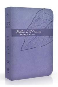 Biblia de Promesa RVR1960 / Tamaño Manual / Piel Especial / Lavanda -  - RVR 1960- Reina Valera 1960,