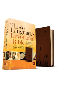NLT Love Languages Devotional Bible, soft leather-look -  - Chapman, Gary