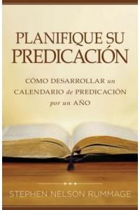 Planifique su Predicación -  - Rummage, Stephen