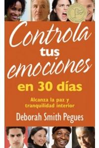 Controla tus Emociones en 30 días - Bolsillo -  - Pegues, Deborah Smith