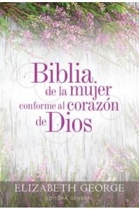 Biblia de la Mujer Conforme al Corazón de Dios RVR60 - Tapa Dura -  - George, Elizabeth