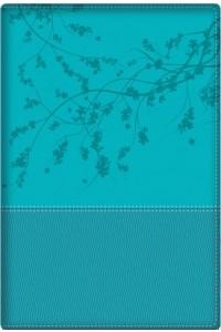 Biblia de la Mujer Conforme al Corazón de Dios RVR60 - Aqua -  - George, Elizabeth