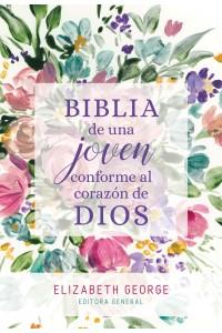 Biblia de una joven conforme al corazón de Dios, Tapa dura -  - George, Elizabeth