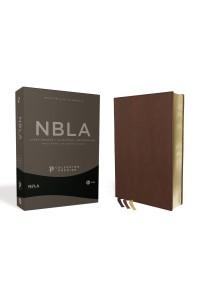 Biblia Ultrafina NBLA Colección Premier, Café -  - Vida,