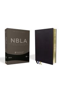 Biblia Ultrafina NBLA, Colección Premier, Azul Marino -  - Vida,