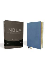Biblia Ultrafina NBLA , Colección Premier, Azul -  - Vida,