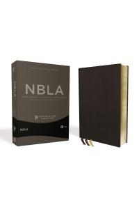 Biblia Ultrafina NBLA , Colección Premier, Negro