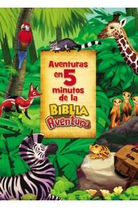 Adventure Bible: Aventuras en 5 minutos de la Biblia Aventura: -  - Madsen, Jim