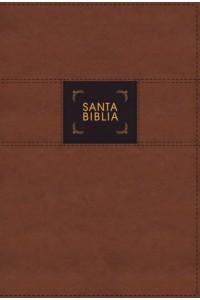 Biblia de Estudio Gracia y Verdad NBLA , Leathesoft, Café, Interior a dos colores, con Índice -  - Mohler, Jr., R. Albert