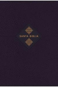 Biblia de Estudio Gracia y Verdad NBLA , Leathesoft, Azul Marino, Interior a dos colores, con Índice -  - Mohler, Jr., R. Albert